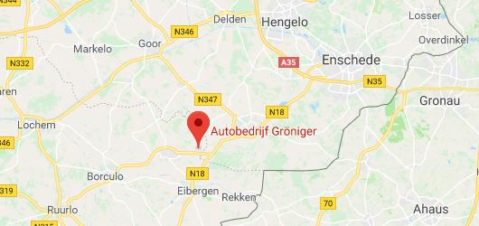 Autobedrijf Gröniger locatie